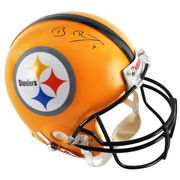 Ben Roethlisberger Pittsburgh Steelers Fanatics Authentic Autographed Riddell Pro-Line Authentic Yellow Throwback Helmet