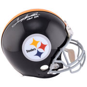 Terry Bradshaw Pittsburgh Steelers Fanatics Authentic Autographed Riddell Pro-Line Authentic Helmet with HOF 89 Inscription