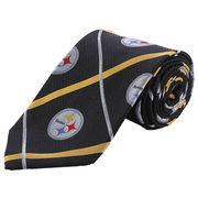 Pittsburgh Steelers Silver Stripe Tie