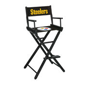 Pittsburgh Steelers Bar-Height Directors Chair