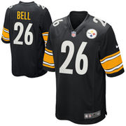 Le'Veon Bell Pittsburgh Steelers Nike Youth Team Color Game Jersey - Black