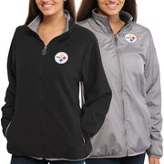 Pittsburgh Steelers NFL Pro Line Women's Reversible Jacket ?É Gray