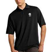 Pittsburgh Steelers Antigua Exceed Polo - Black