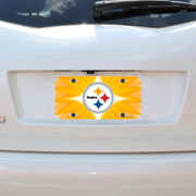 Pittsburgh Steelers WinCraft Plastic Star License Plate