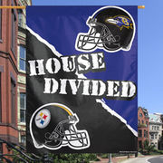 Pittsburgh Steelers WinCraft House Divided/Baltimore Ravens 27
