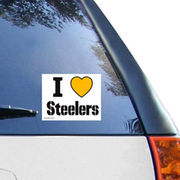 Pittsburgh Steelers WinCraft White I Love Steelers 5