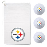 Pittsburgh Steelers WinCraft Golf Gift Set