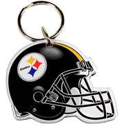 Pittsburgh Steelers WinCraft High-Definition Helmet Logo Keychain