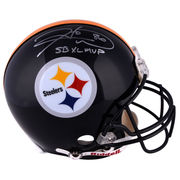 Hines Ward Pittsburgh Steelers Fanatics Authentic Autographed Riddell Pro-Line Authentic Helmet with SB XLVIII MVP Inscription
