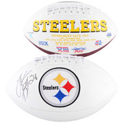 Le'Veon Bell Pittsburgh Steelers Fanatics Authentic Autographed White Panel Football