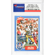 Jack Ham Pittsburgh Steelers Fanatics Authentic Autographed 1988 Swell #143 Card with 4 X SB Champs Inscription