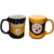 Pittsburgh Steelers Chevron Salt & Pepper Shakers