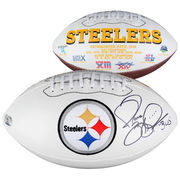 Jerome Bettis Pittsburgh Steelers Fanatics Authentic Autographed Logo Football with The Bus Inscription