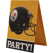 Pittsburgh Steelers Invitation and Thank You Card Set