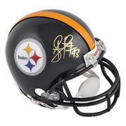 Troy Polamalu Pittsburgh Steelers Fanatics Authentic Autographed Riddell Mini Helmet