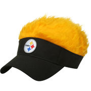 Pittsburgh Steelers Flair Hair Visor -