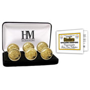 Pittsburgh Steelers Super Bowl Champions Collector Coin Set