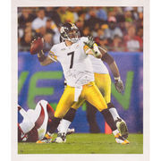Ben Roethlisberger Pittsburgh Steelers Fanatics Authentic Autographed Canvas with Multiple Inscriptions