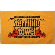 Pittsburgh Steelers Pumpkin Terrible Towel - Gold