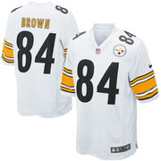 Antonio Brown Pittsburgh Steelers Nike Game Jersey - White