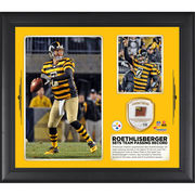 Ben Roethlisberger Pittsburgh Steelers Fanatics Authentic Framed 15