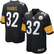 Franco Harris Pittsburgh Steelers Nike Retired Player Game Jersey - Black