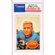 Bobby Layne Pittsburgh Steelers 1960 Topps #93 Card