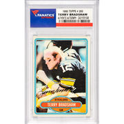 Terry Bradshaw Pittsburgh Steelers Fanatics Authentic Autographed 1980 Topps #200 Card