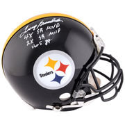 Terry Bradshaw Pittsburgh Steelers Fanatics Authentic Autographed Proline Helmet with Multiple Inscriptions