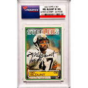 Mel Blount Pittsburgh Steelers Fanatics Authentic Autographed 1983 Topps #357 Card with HOF 89 Inscription