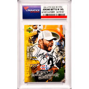 Jerome Bettis Pittsburgh Steelers Fanatics Authentic Autographed 2006 Upper Deck Super Bowl Commemorative Set #SH5 Card with The Bus Inscription -