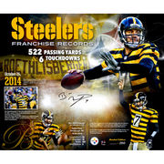 Ben Roethlisberger Pittsburgh Steelers Fanatics Authentic Autographed 20