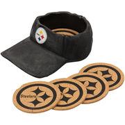 Pittsburgh Steelers 4-Pack Cap Coasters