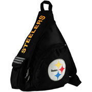 Pittsburgh Steelers Leadoff Sling Backpack - Black