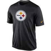 Pittsburgh Steelers Nike Legend Logo Essential 2 Performance T-Shirt - Black