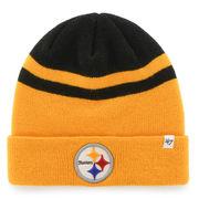 Pittsburgh Steelers '47 Brand Cedarwood Cuffed Knit Hat - Gold