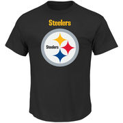 Pittsburgh Steelers Majestic Critical Victory T-Shirt - Black