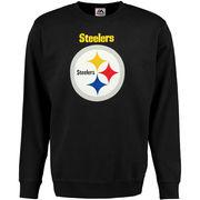Pittsburgh Steelers Critical Victory Crew Sweatshirt - Black