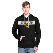 Pittsburgh Steelers '47 Playmaker French Terry Pullover Hoodie - Black