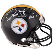 Jerome Bettis Pittsburgh Steelers Fanatics Authentic Autographed Pro Mini Helmet with HOF 2015 Inscription