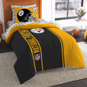 Pittsburgh Steelers The Northwest Company Soft & Cozy 5-Piece Twin Bed in a Bag Set