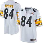 Antonio Brown Pittsburgh Steelers Nike Limited Jersey - White