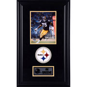 Joe Greene Pittsburgh Steelers Fanatics Authentic Deluxe Framed Autographed 8'' x 10'' Photograph with HOF 87 Inscription