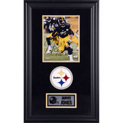 Jarvis Jones Pittsburgh Steelers Fanatics Authentic Deluxe Framed Autographed 8'' x 10'' Vertical Chasing Photograph