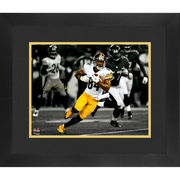 Antonio Brown Pittsburgh Steelers Fanatics Authentic Framed Autographed 11'' x 14'' Running Spotlight Photograph