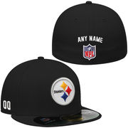 New Era Pittsburgh Steelers Men's Custom On-Field 59FIFTY Football Structured Fitted Hat