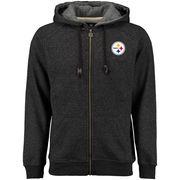 Pittsburgh Steelers NFL Pro Line Rushmore Full-Zip Hoodie - Black