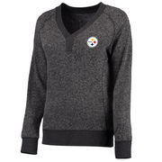 Pittsburgh Steelers NFL Pro Line Women's Forest Sweater - Charcoal