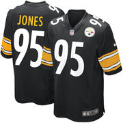 Jarvis Jones Pittsburgh Steelers Youth Nike Team Color Game Jersey - Black