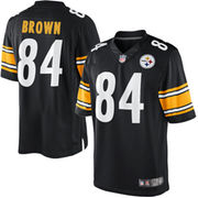 Antonio Brown Pittsburgh Steelers Nike Youth Limited Jersey - Black